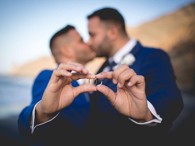 La boda de Julio y Kilian en Candelaria, Santa Cruz de Tenerife 2