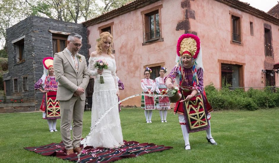 La boda de Pedro y Denica en Villacorta, Segovia