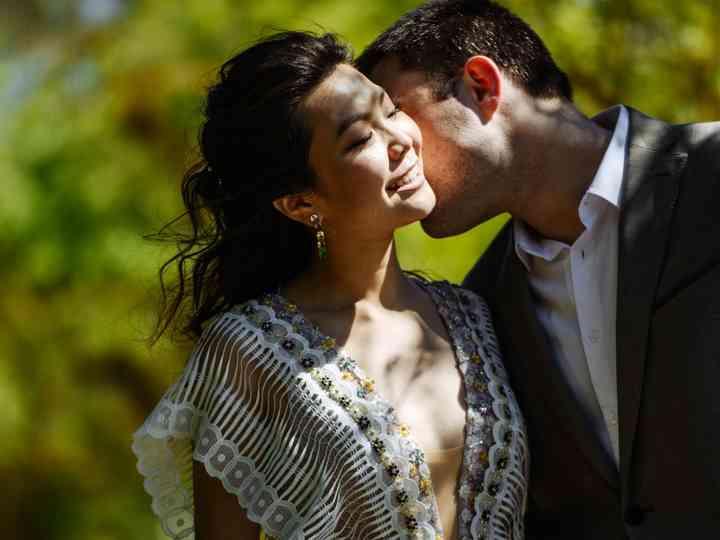 La boda de Erentsena y Victor