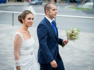 La boda de Ángela y igor