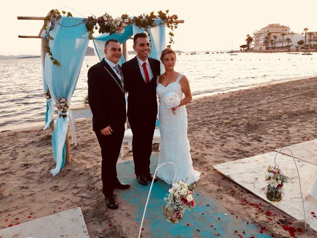 La boda de Oscar y Roxana en La Manga Del Mar Menor, Murcia 3