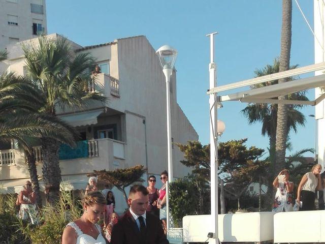 La boda de Oscar y Roxana en La Manga Del Mar Menor, Murcia 4