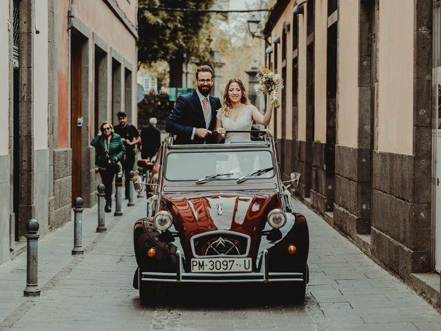 La boda de Miche y Kasia en Arucas, Las Palmas 45