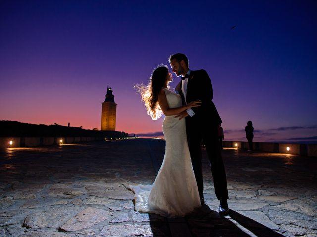 La boda de Andrés y Jessica en Santiago De Compostela, A Coruña 2
