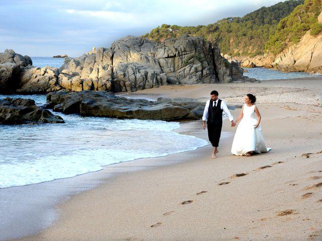La boda de Vanessa y Raul en Lloret De Mar, Girona 2