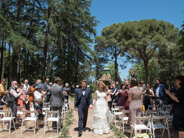 La boda de Marina y Matthew