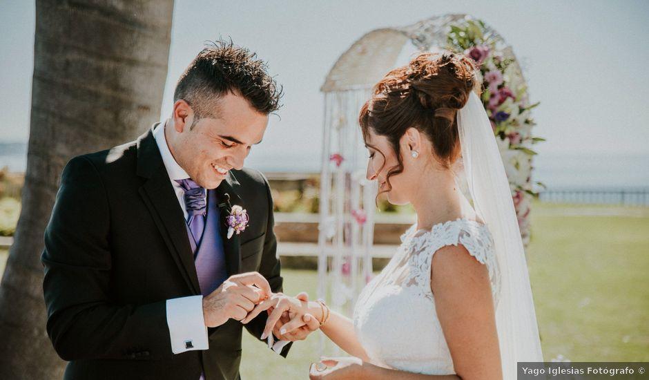La boda de Pablo y Silvia en Sanxenxo, Pontevedra