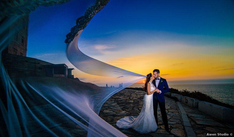 La boda de Andrés y Jessica en Santiago De Compostela, A Coruña