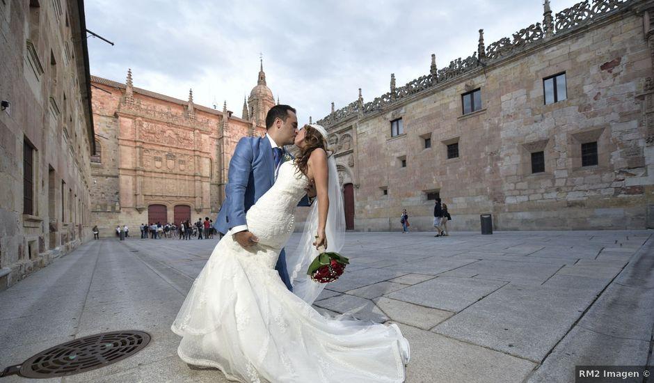 La boda de Carlos y Patricia en Villamayor, Salamanca