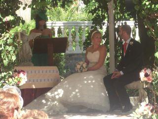 La boda de Mariam y David