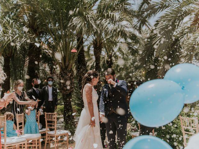 La boda de Jesús y Laura en Elx/elche, Alicante 105