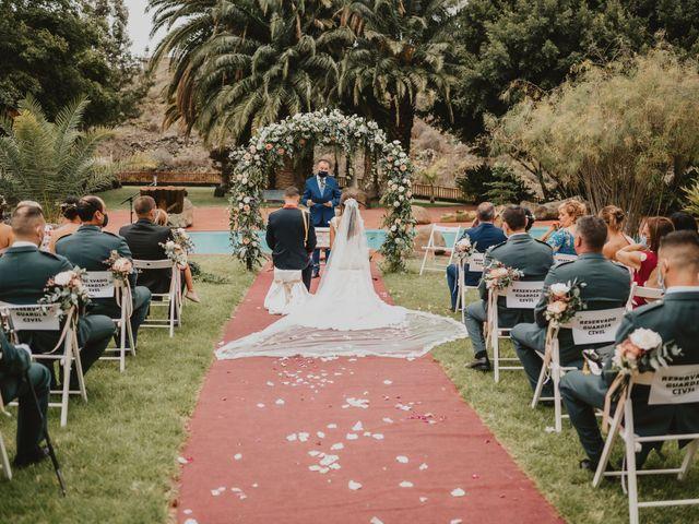La boda de Néstor y Ana Laura en Galdar, Las Palmas 35