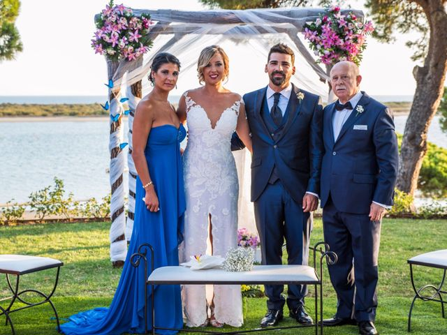 La boda de Rubén y María en El Rompido, Huelva 13