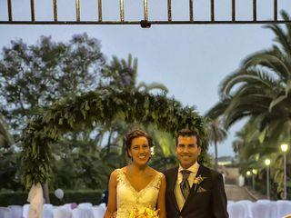 La boda de Raquel  y Antonio María  2