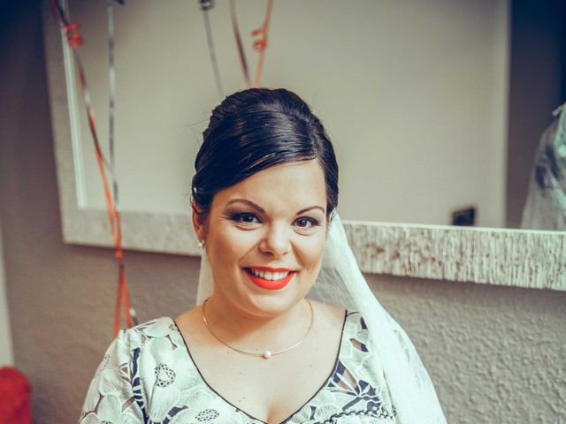 La boda de Fran y Noelia en L' Hospitalet De Llobregat, Barcelona 35