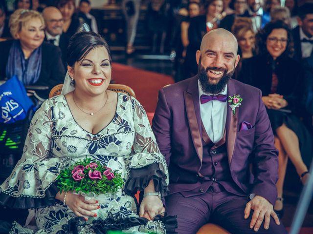 La boda de Fran y Noelia en L' Hospitalet De Llobregat, Barcelona 45
