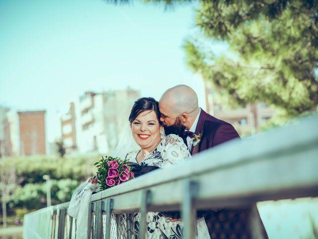 La boda de Fran y Noelia en L' Hospitalet De Llobregat, Barcelona 63