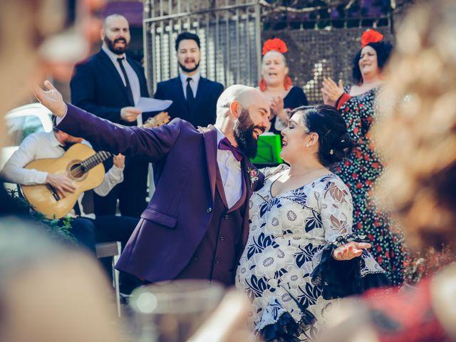 La boda de Fran y Noelia en L' Hospitalet De Llobregat, Barcelona 78