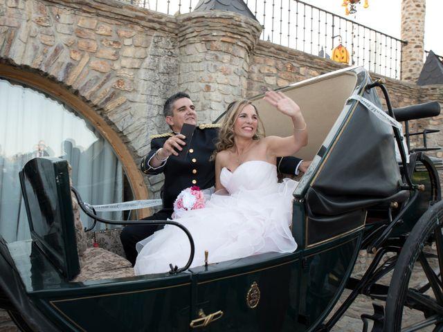 La boda de Miguel Ángel y Beatriz en Mangiron, Madrid 11