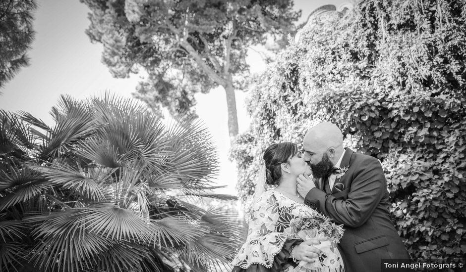 La boda de Fran y Noelia en L' Hospitalet De Llobregat, Barcelona