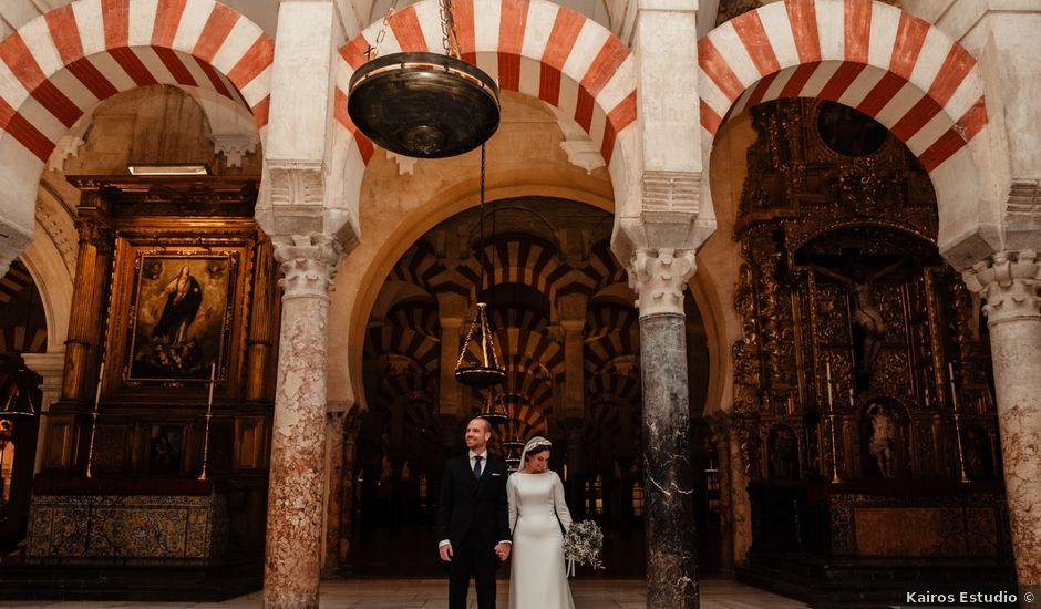 La boda de Antonio y María en La Carlota, Córdoba