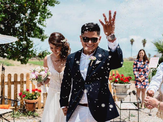 La boda de Andrea y Miguel Ángel