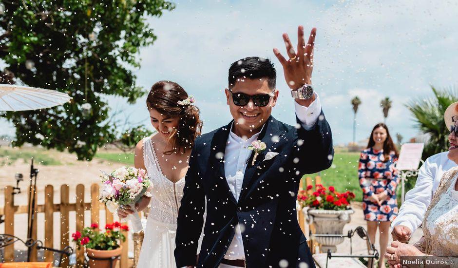 La boda de Miguel Ángel y Andrea en Alboraya, Valencia