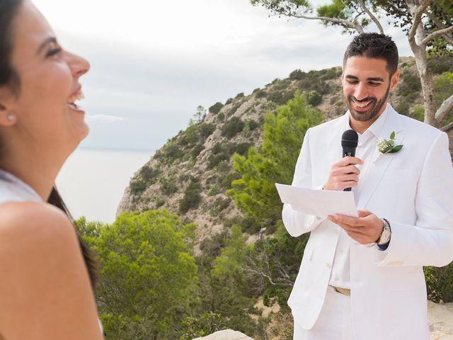 La boda de José y Tamara en Cala De San Vicente Ibiza, Islas Baleares 4
