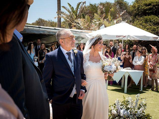 La boda de Carlos y Nadia en Conil De La Frontera, Cádiz 17