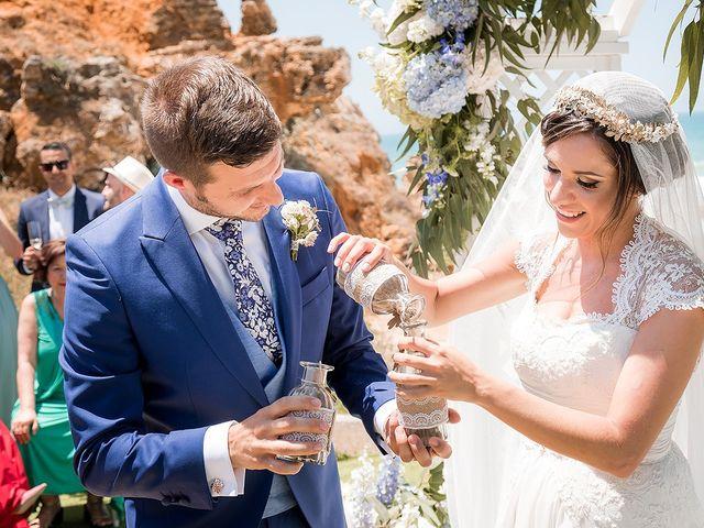 La boda de Carlos y Nadia en Conil De La Frontera, Cádiz 22