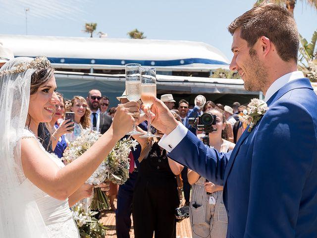 La boda de Carlos y Nadia en Conil De La Frontera, Cádiz 28