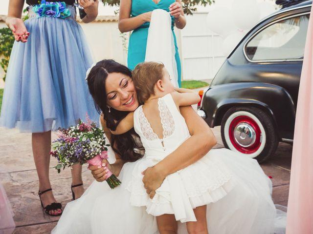 La boda de Juanmi y Vero en Sant Vicent Del Raspeig/san Vicente Del, Alicante 22