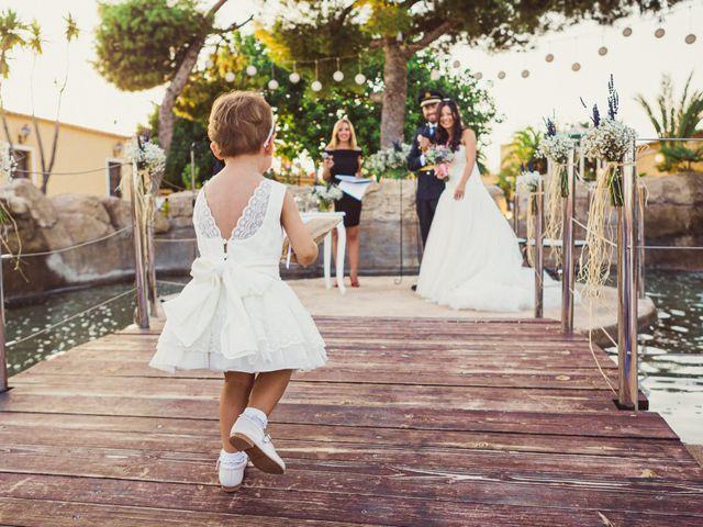 La boda de Juanmi y Vero en Sant Vicent Del Raspeig/san Vicente Del, Alicante 15