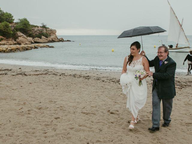 La boda de Nuria y Amanda en L' Ametlla De Mar, Tarragona 20