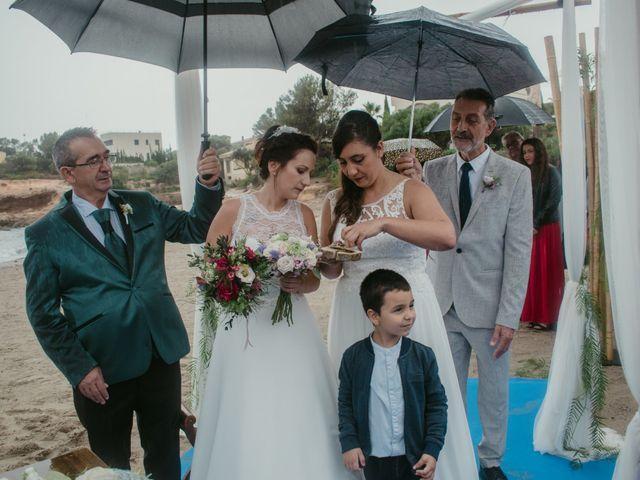 La boda de Nuria y Amanda en L' Ametlla De Mar, Tarragona 22