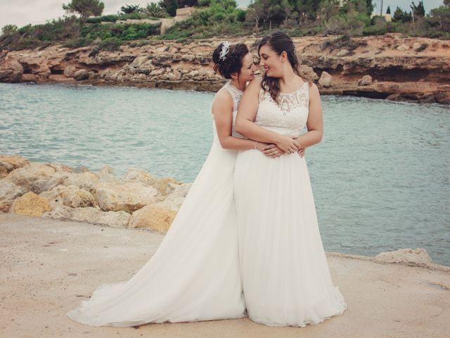 La boda de Nuria y Amanda en L' Ametlla De Mar, Tarragona 27