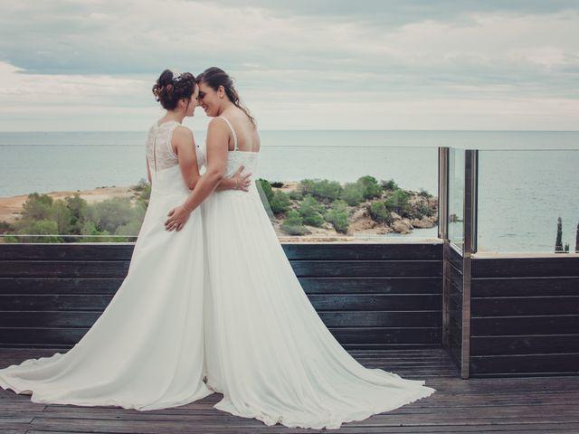 La boda de Nuria y Amanda en L' Ametlla De Mar, Tarragona 29