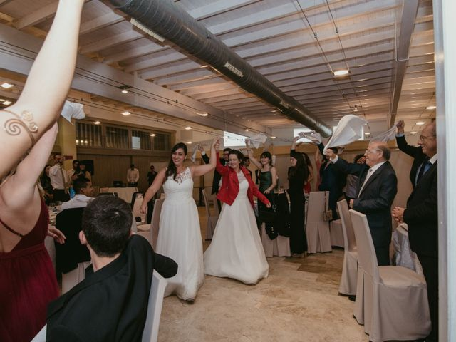 La boda de Nuria y Amanda en L' Ametlla De Mar, Tarragona 33