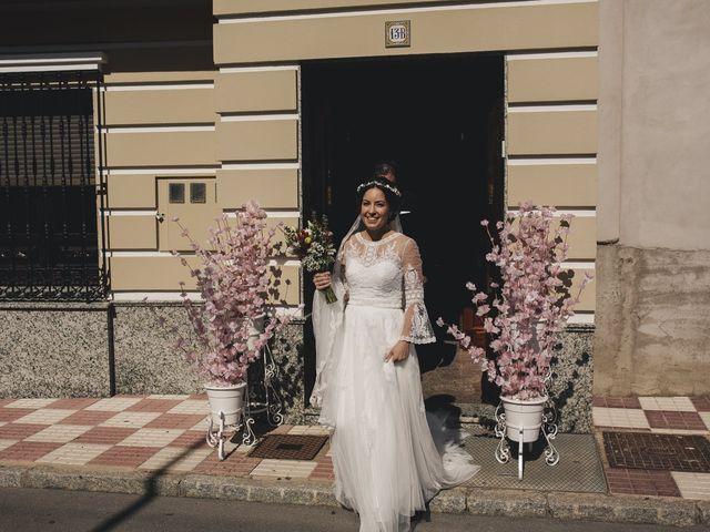 La boda de María y Santi en Oliva De La Frontera, Badajoz 44