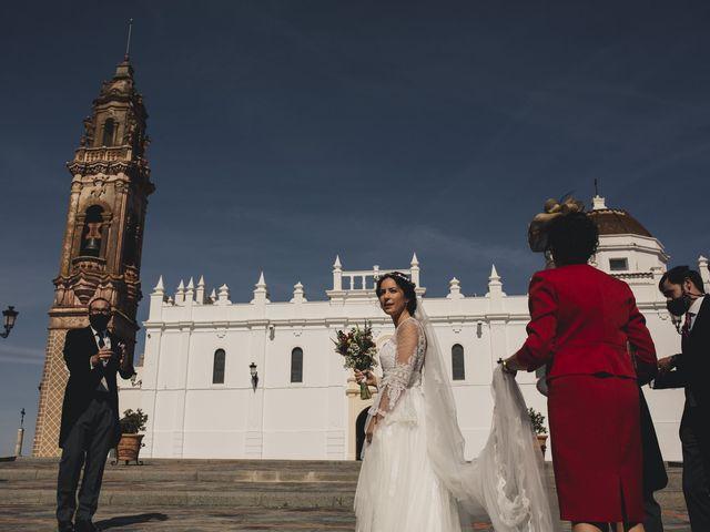 La boda de María y Santi en Oliva De La Frontera, Badajoz 47