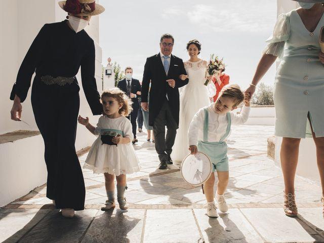 La boda de María y Santi en Oliva De La Frontera, Badajoz 48