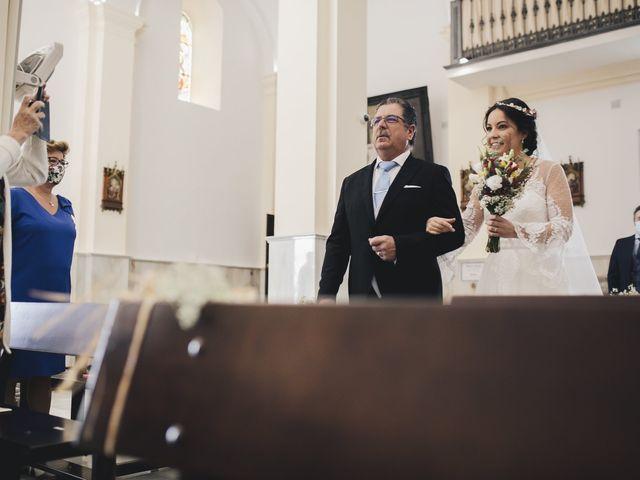 La boda de María y Santi en Oliva De La Frontera, Badajoz 49
