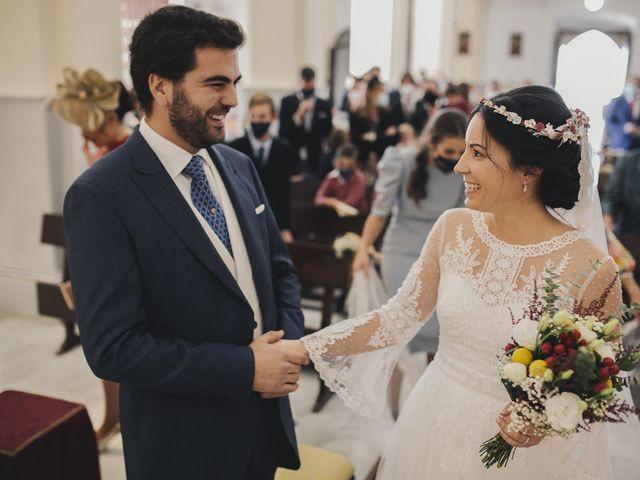 La boda de María y Santi en Oliva De La Frontera, Badajoz 50