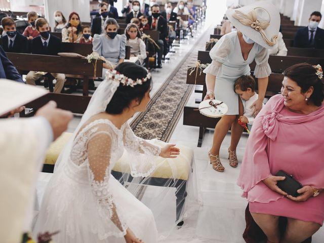 La boda de María y Santi en Oliva De La Frontera, Badajoz 54