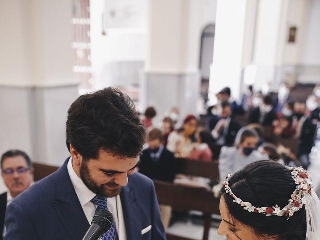La boda de María y Santi en Oliva De La Frontera, Badajoz 55