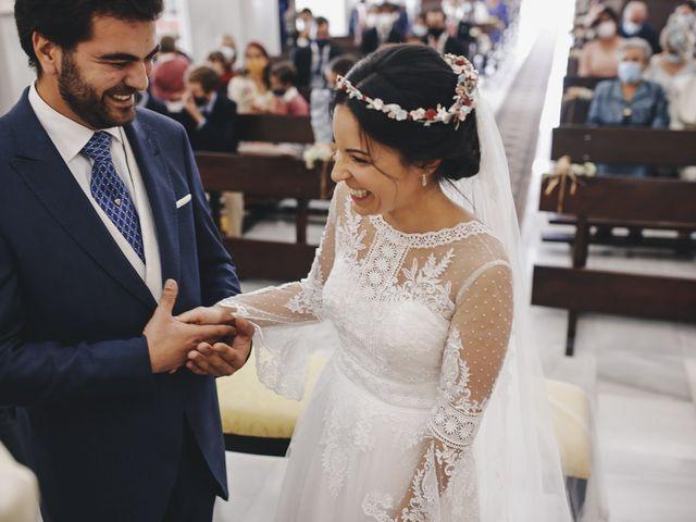 La boda de María y Santi en Oliva De La Frontera, Badajoz 56