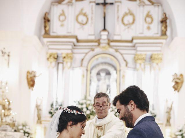 La boda de María y Santi en Oliva De La Frontera, Badajoz 57