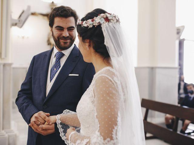 La boda de María y Santi en Oliva De La Frontera, Badajoz 58