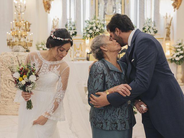 La boda de María y Santi en Oliva De La Frontera, Badajoz 63