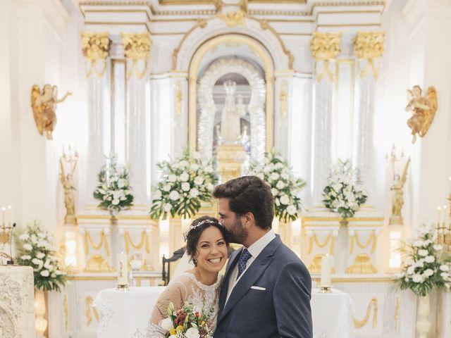 La boda de María y Santi en Oliva De La Frontera, Badajoz 64